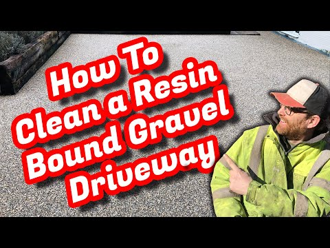 Resin Bound Driveway Cleaning (Resin Bound Gravel) & A Patio Softwash Thrown In