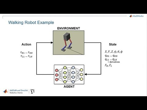 Deep Reinforcement Learning for Walking Robots - MATLAB and Simulink  Robotics Arena