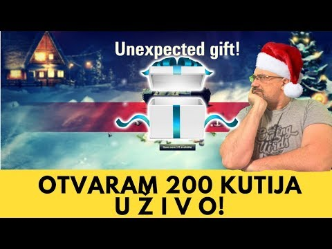 Otvaram 200 WoT loot box kutija UŽIVO   World of Tanks Balkan thumbnail