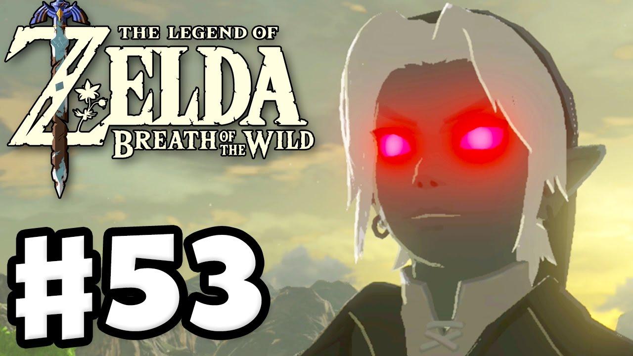 Dark Link The Legend Of Zelda Breath Of The Wild Gameplay Part 53 Youtube