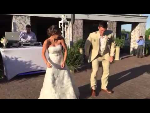 Wedding Surprise Bride and Groom First Dance! (Wait for it..) Donny and Jocelyn 5.16.15