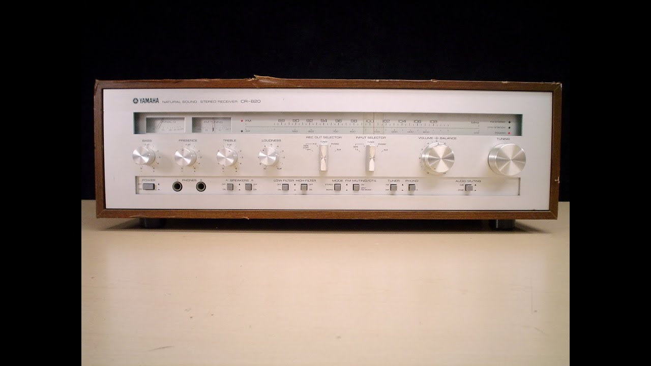 vintage yamaha receiver. vintage yamaha cr-820 am/fm stereo receiver ebay recyclecology a