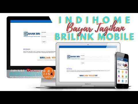Bayar Tagihan INDIHOME via BRILink Mobile