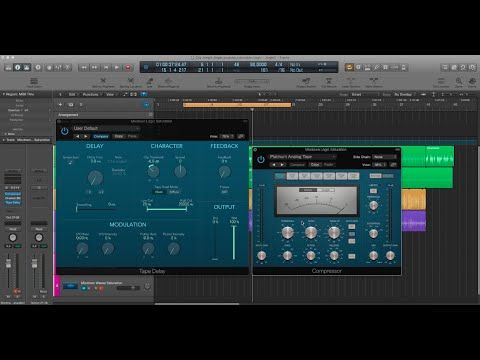 Logic Pro X: Secret Tape Saturation Plugin