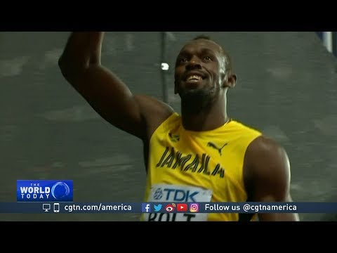 Usain Bolt finishes 3rd in his last competitive 100 meters