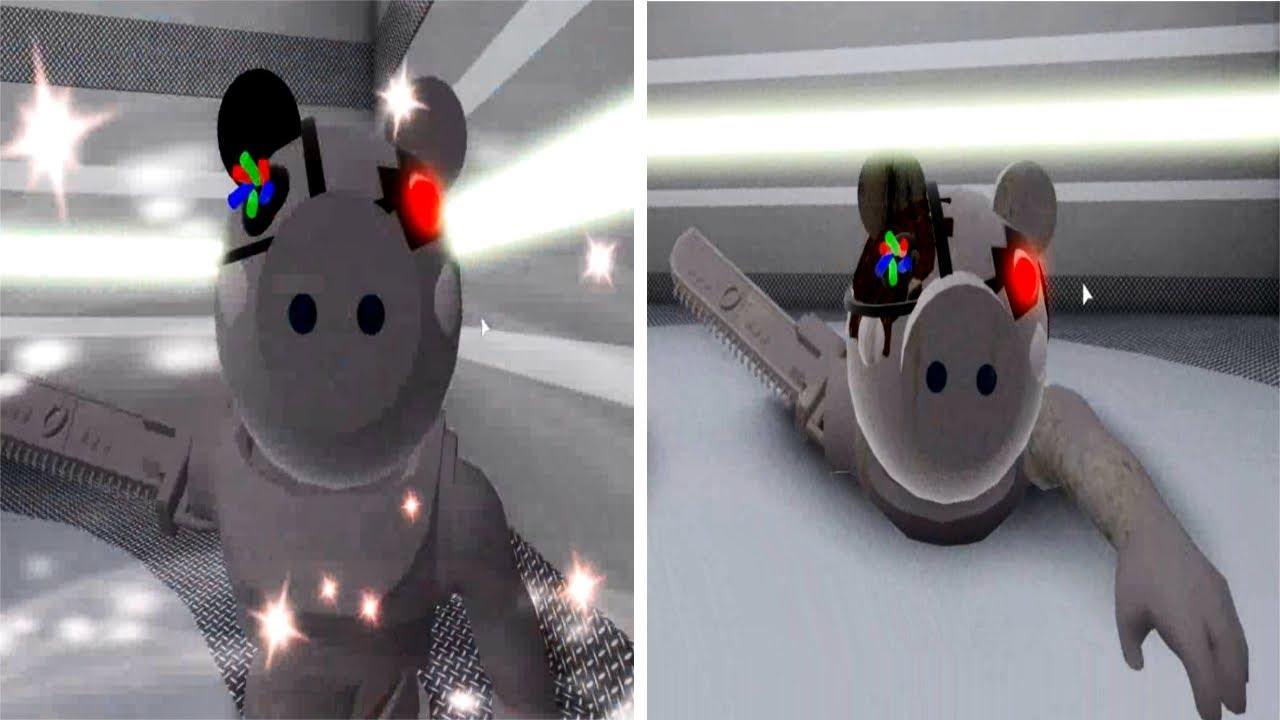 NEW ROBLOX PIGGY ROBBY VS BROKEN ROBBY JUMPSCARE
