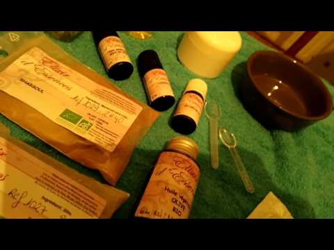 Présentation produits cosmétiques biologique et naturel d élixir d essences