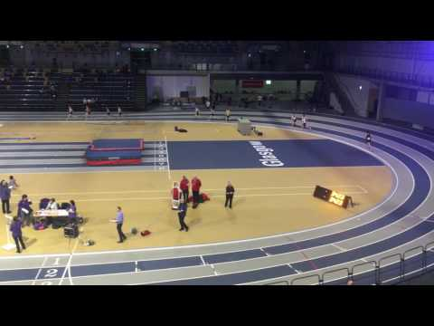 BMC 3000m Heat 2 - Glasgow Emirates Arena 04/01/2017