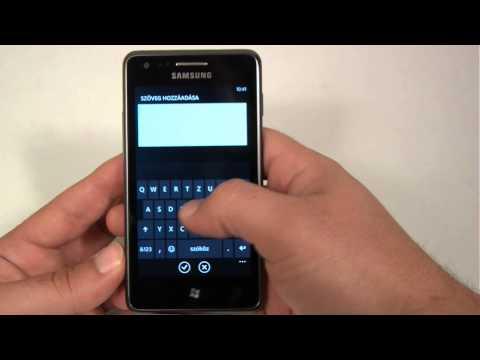 Samsung Omnia M hands-on