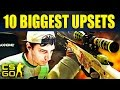 Top 10 Biggest Pro Upsets In CS:GO History