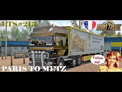 ETS#213 Transporting Furniture from Paris to Metz 411 KM