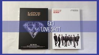 UNBOXING EXO #39LOVE SHOT#39 5th Repackage Album - Love + Shot Versions