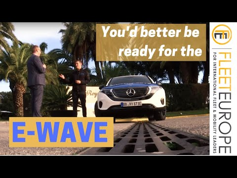 You'd better be ready for the e-wave