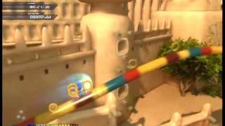 Sonic Unleashed (360): Savannah Citadel 1 Speed Run - 1:41:22