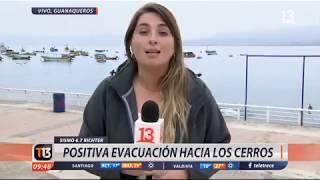 Daños en centro histórico de La Serena tras sismo