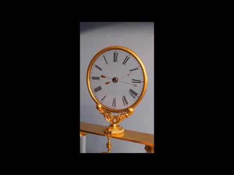 c.1839 Magnificent Exhibition Mystery Clock by Robert-Houdin.