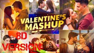 Valentine Mega Mashup 2021, 8D VERSION, DJ Dave NYC, Sunix Thakor, Love Mashup, Romantic Mashup