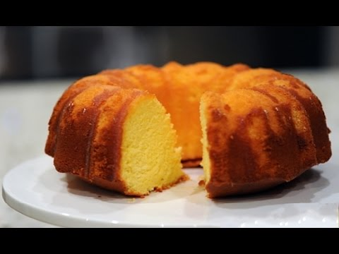Orange Pound Cake From Scratch