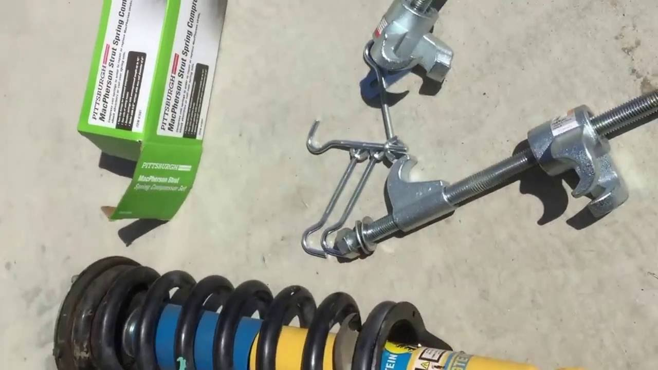 2006 Nissan Frontier 4x4 Front Shocks Replacement Youtube
