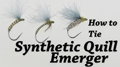 Synthetic Quill Emerger | Fly Tying - Hemmingway's Synthetic Tapered Peacock Quill