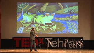 From 1 Frame to 129,600 Frames: Bahram Azimi at TEDxTehran
