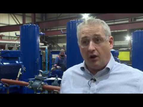 Water Source Heat Pumps for district heating  - BBC video