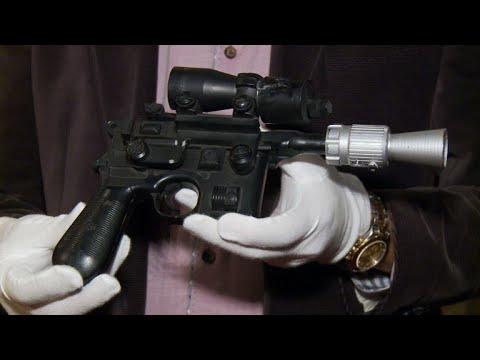 Le pistolet-laser de Han Solo bientôt aux enchères
