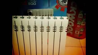видео Купить анодированные радиаторы (батареи) отопления алюминиевые.
