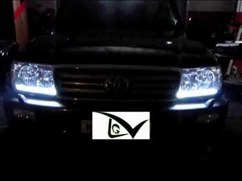 Land Cruiser 100 - Светодиодный тюнинг фар, освещение салона. Стробоскоп. ДХО