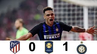 Atletico De Madrid vs Inter De Milan | Resumen Y Goles | International Champions Cup