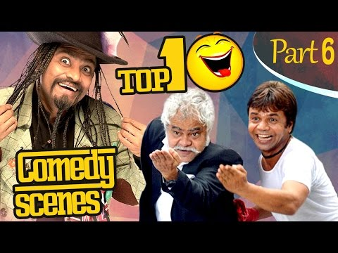 Thumbnail: Top 10 Comedy Scenes {HD} Ft - Johnny Lever | Rajpal Yadav | Sanjay Mishra | #IndianComedy