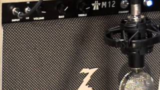 Dr Z M12 Amplifier demo with Kingbee Guitars Stratocaster