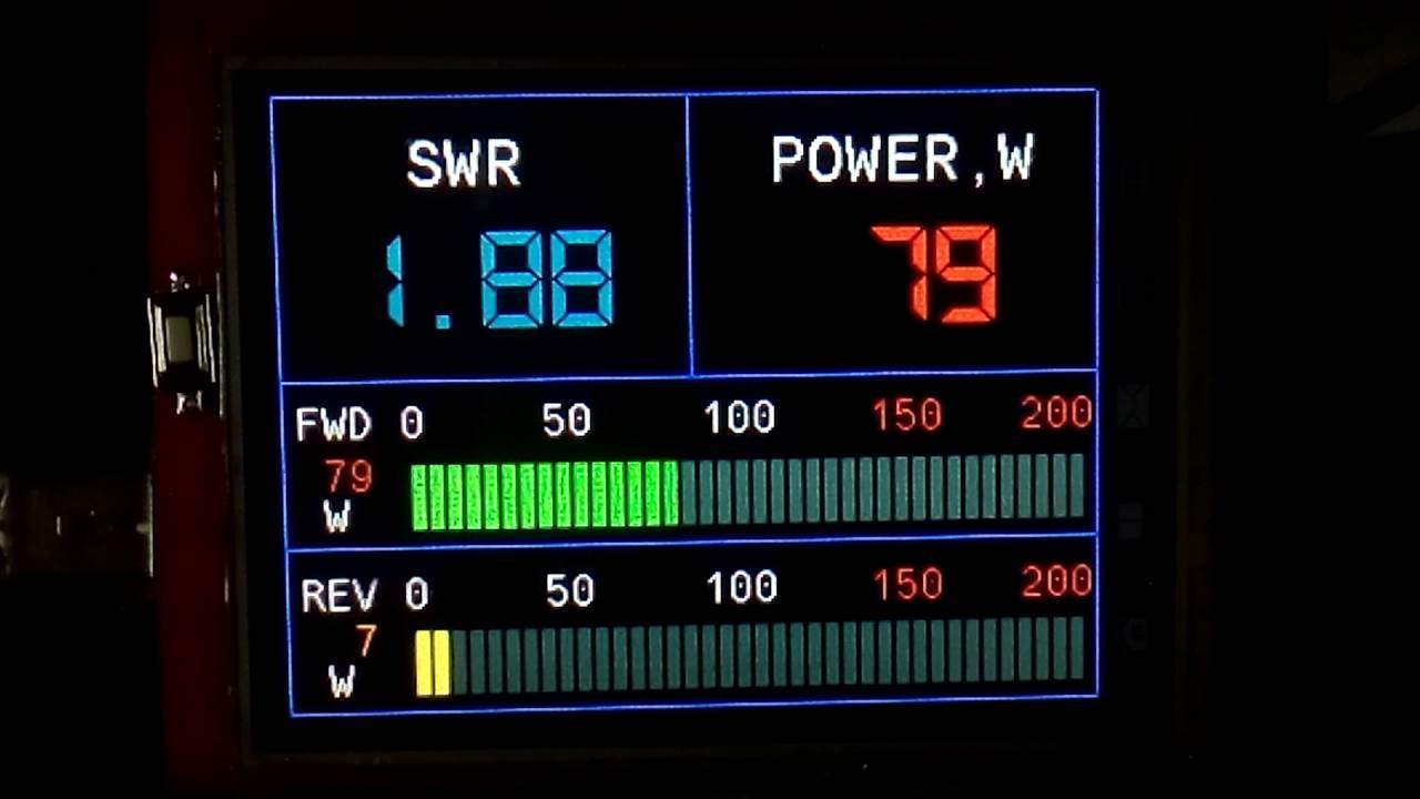 SWR METER STM8S003K3T6C 24MHz