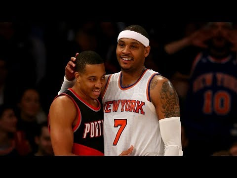 Carmelo Anthony Trade Rumors! The Future of Drose!