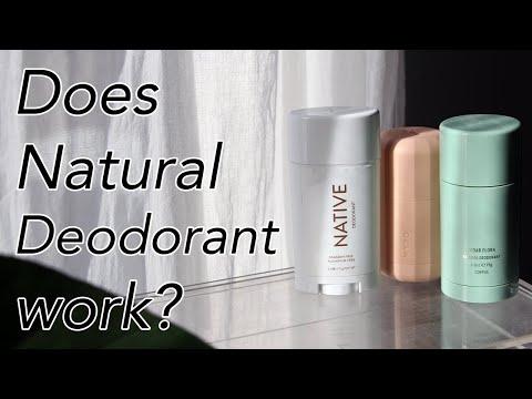 Natural Deodorant That Works! Native, Corpus, & Myro