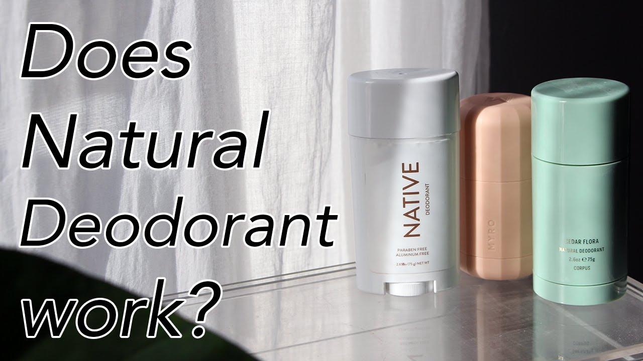 Natural Deodorant That Works! Native, Corpus, & Myro Deodorant Review |  Olivia Frescura