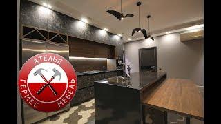 Кухня ФАСАД под КАМЕНЬ Smart + Cleaf. Обзор № 74.