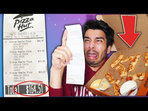 Letting YOUTUBERS Decide What i Eat for 24 HOURS! (IMPOSSIBLE FOOD CHALLENGE)