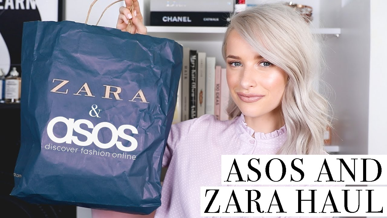Zara and ASOS Haul and Try On for Summer Outfits   Inthefrow 5