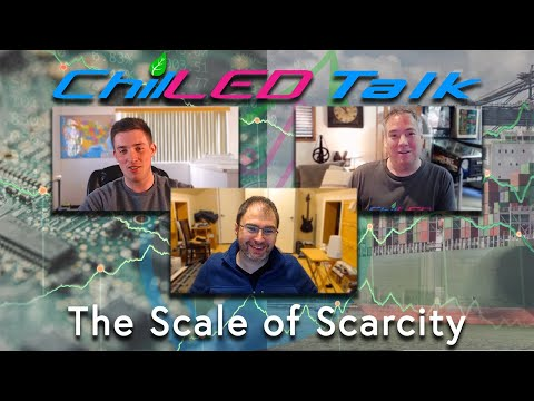 The Scale of Scarcity - A Long-form Discussion on the Current State of Global Trade | ChilLED Talk