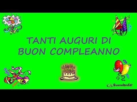 Conosciuto TANTI AUGURI DI BUON COMPLEANNO - YouTube PZ16