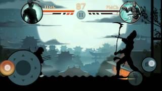 1-ый босс в игре Shadow Fight 2,,Рысь