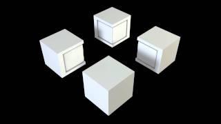 Pacman - Ottoman + Table Set