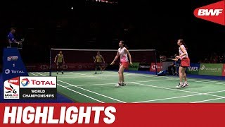 TOTAL BWF World Championships 2019 | Semifinals WD Highlights | BWF 2019