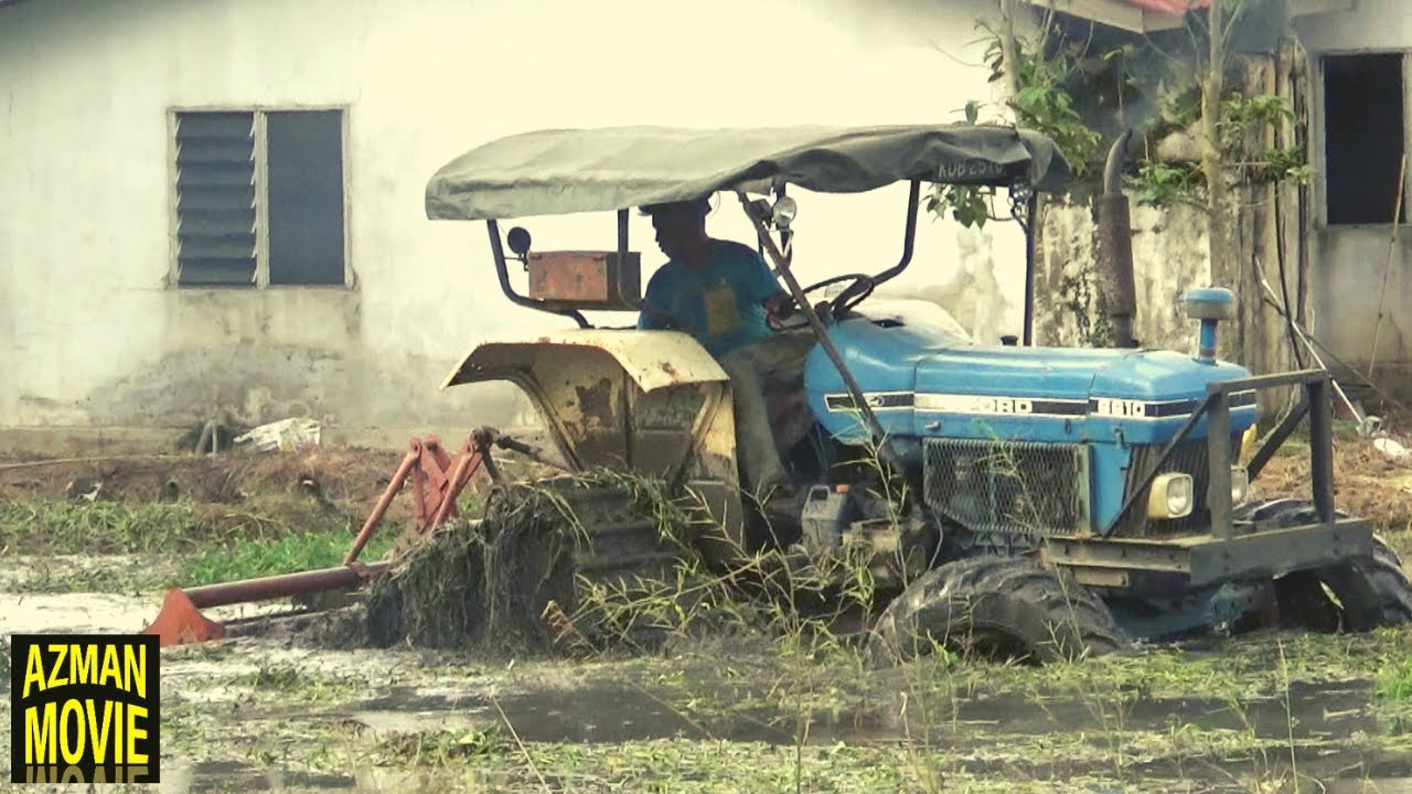 TRACTOR TRACK FORD MACAM NAK LEKAT TANG KONA
