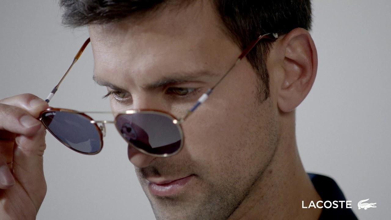 Lacoste Eyewear S Novak Djokovic Collection Youtube