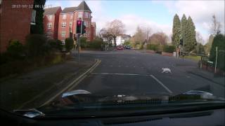 Well trained cats in Droitwich Spa use Pedestrian Crossing while on green! :)