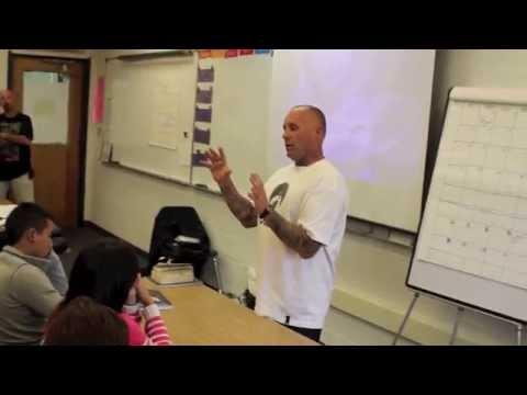 JAY ADAMS spoke to San Diego High School