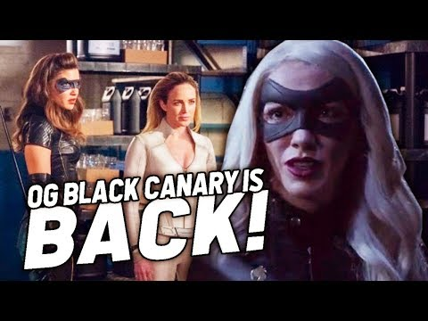 "OG Black Canary and The Birds of Prey! Arrow 7x18 Review - ""Lost Canary"""