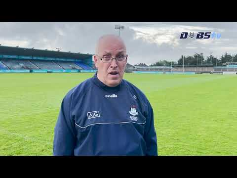 Dublin U20s Football manager Tom Gray looks ahead to Leinster Quarter Final against Wicklow